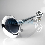 24 Volt Chrome Air Horn - Round 65cm