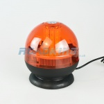 LED Orange Beacon Light with Suction Cup & Magnet | 12v & 24v