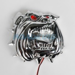 Chrome LED Bulldog Light | 16cm | 12v / 24v