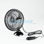 12v Cooling Fan | 5 Inch Fan with Suction Cup