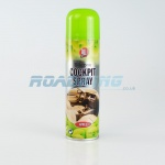 Cockpit Spray - 225ml | Long Lasting Air Freshner | Apple