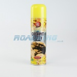 Cockpit Spray - 225ml | Long Lasting Air Freshner | Vanilla