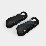 Luggage Combination Travel Padlock | Pack of 2 | Black
