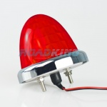 24v Diamond Toplight - 9 LED - Red