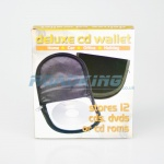 12 CD / DVD DJ Disc Wallet | Black