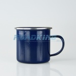 Enamel Travel / Camping Mug | Blue