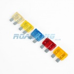 Intelligent LED Blade Fuse | 5 Assorted Fuses