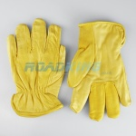 Leather Driving Gloves |Felt Lined | Size 10