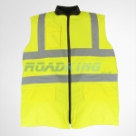 Hi Vis Reversible Body Warmer Jacket