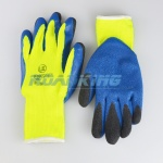 KOOLgrip™ Hi-Viz Latex Knit Heat & Cold Protection Gloves | Fleece Lined