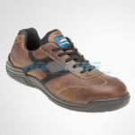 Himalayan 4201 Brown Leather Composite Toe Cap Safety Trainers Shoes