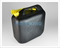 20 Litre Black Plastic Jerry Can