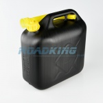 Jerry Can 10L | 10 Litre Black Plastic Fuel Can