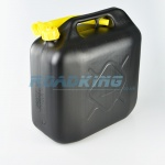Jerry Can 20L | 20 Litre Black Plastic Fuel Can