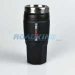 Travel Mug | 400ml Reusable Insulated Mug | Black