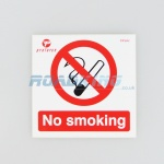No Smoking Sticker - 10cm x 10cm