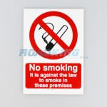 No Smoking Sticker | 14.5cm x 21cm