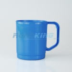 Plastic Camping Mug | 275ml | Blue