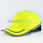 Safety Baseball Cap / Hard Hat - Hi-Viz Bump Cap | Yellow