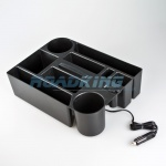 Powered Seat Organiser with USB | 12v & 24v