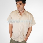 Short Sleeve Shirt | Mens | Beige