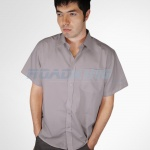 Short Sleeve Shirt | Mens | Grey