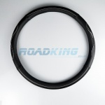 Truck Steering Wheel Cover | Black & White | 44-46cm