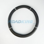 Steering Wheel Cover | Car, Van, 4x4 | Leather Black | 38-40cm