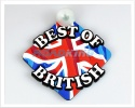 3D Car Window Sucker Sign - Union Jack - Best of British