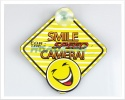 3D Car Window Sucker Sign - Smile for the Speed Camera