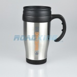 Travel Mug with Holder | Stainless Steel