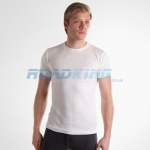 Mens Thermal Vest / T-Shirt | White