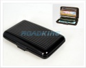 Aluminium Card Wallet | Water Resistant & Crush Resistant | Black