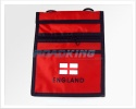 England Wallet | St George's Flag Design WIth Shoulder Strap | Red or White
