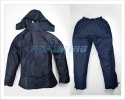 Waterproof Clothing Suit | Rainsuit Jacket & Trousers | Navy