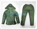 Waterproof Clothing Suit | Rainsuit Jacket & Trousers | Green