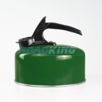 2 Litre Aluminium Whistling Kettle | Green