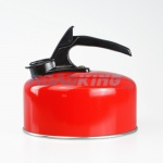 2 Litre Aluminium Whistling Kettle | Red